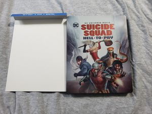 Suicide Squad Hell to Pay Blu-ray Steelbook for Sale in Bellflower, CA