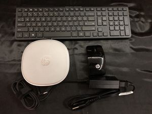 HP Pavilion Mini Desktop with Keyboard and Mouse without a Monitor for Sale in Toms River, NJ