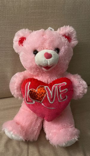Pink bear stuffed animal for Sale in Miami, FL