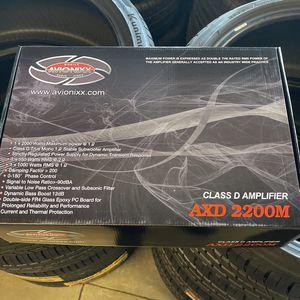 Avionex Class D Amplifier 2200 True Mono Block 1 Ohm for Sale in Fontana, CA