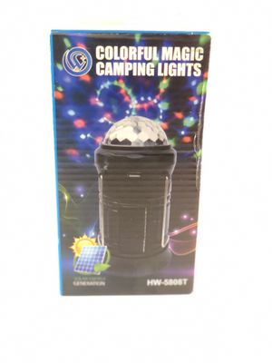 4in1 camping light. Disco light - Brand New for Sale in Medford, MA