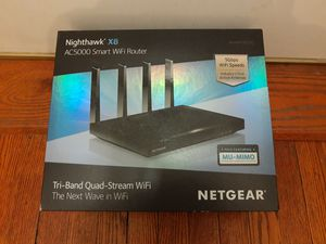 New NETGEAR Nighthawk X8 AC5000 Tri-band WiFi Router for Sale in Chicago, IL