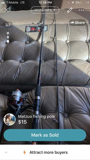 Matzuo Fishing Pole for Sale in Los Lunas, NM