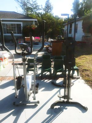 Maxi climber and Elliptical Machine for Sale in Los Angeles, CA
