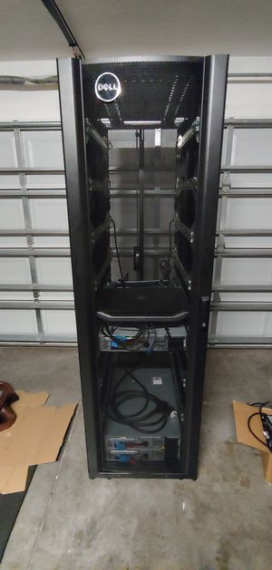 Dell 42u server rack for Sale in Ruskin, FL