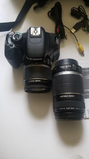 Canon T3i with 2 lenses for Sale in Newport News, VA