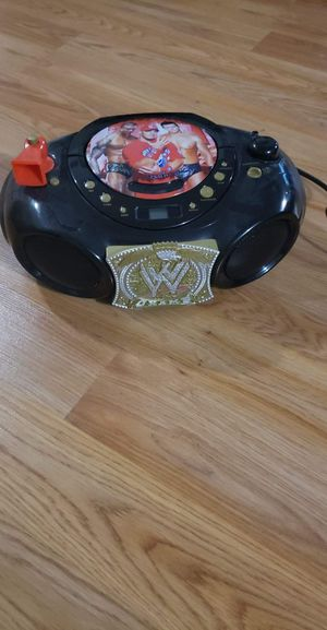 WWE cd player for Sale in Brook Park, OH
