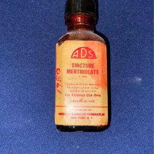 Vintage Tincture Merthiolate Bottle for Sale in Boring, OR