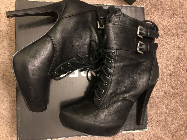 Black Express Boots- Women's