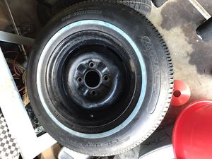 Original 1964 Nova Wheels W/ New Tires for Sale in Santa Monica, CA