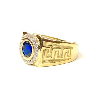 14 k gold man ring made in Italy (MMRM01) for Sale in Houston, TX