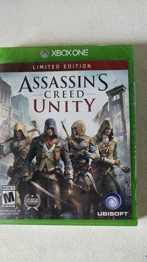 Xbox one assassin's Creed unity for Sale in Fort Lauderdale, FL