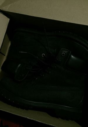 Timberland Boots/Black for Sale in Miami, FL