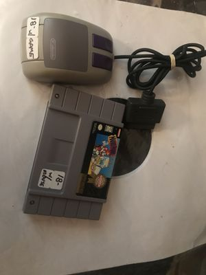 Mario Paint with mouse SNES Super Nintendo for Sale in Cleveland, OH