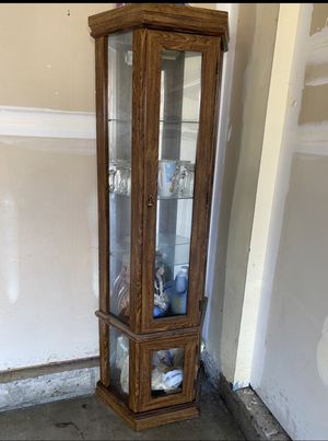 Free display cabinet for Sale in Romeoville, IL
