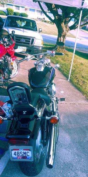 Black Yamaha V star motorcycle for Sale in Obetz, OH