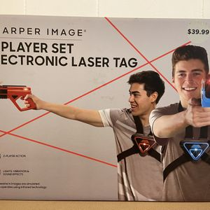 Electronic Laser Tag Sharper Image 2 Player Set for Sale in Miami, FL