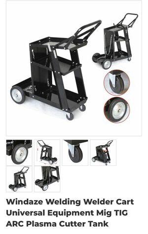 Windaze welding welder cart universal equipment mig TIG ARC plasma cutter tank for Sale in Eastvale, CA