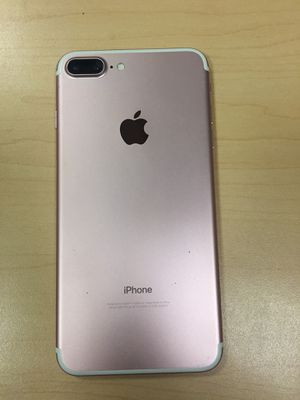 iPhone 7 Plus 128gb UNLOCKED with 6 months warranty for Sale in Boston, MA