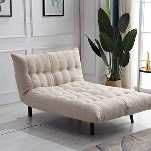 Brand New MULTI FUNCTION Linen Fabric Futon Sofa Bed for Sale in Pomona, CA
