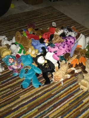 Lots beanie babies all with tags$3 each for Sale in Alexandria, VA