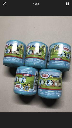 Thomas & Friends mashems squishy toys 5 pcs lot for Sale in Yuma, AZ