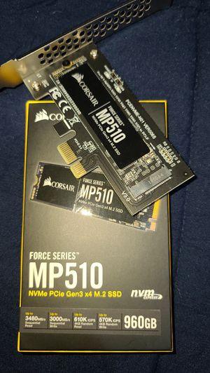 CORSAIR MP510 960GB m.2 SSD for Sale in El Cajon, CA