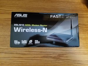 NEW ASUS DSL-N10 MODEM for Sale in Battle Ground, WA