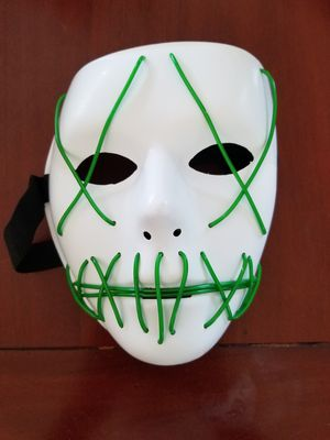 Green LED Halloween Mask for Sale in Temple City, CA