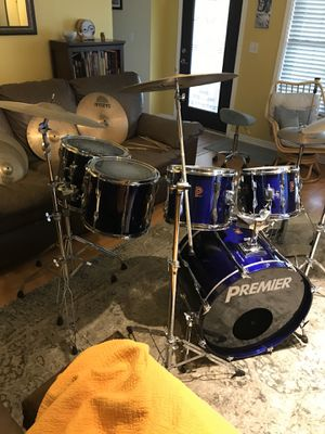 6-piece Premier drum set for Sale in Clearwater, FL