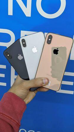 Apple iPhone XS 256Gb / 64Gb - Unlocked / ATT / T-Mobile / Metro Starting @ for Sale in Arlington,  TX