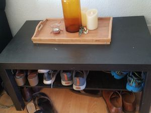 Shoe Rack/ IKEA table for Sale in Concord, CA