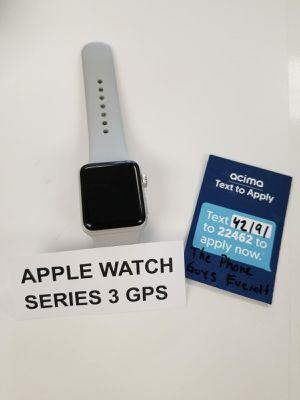 42mm Apple Watch Series 3 LTE for Sale in Everett, WA