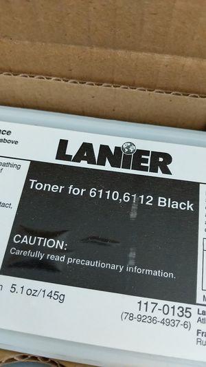 BOX IF TONERS FIR LANIER COPIER. for Sale in Leesburg, VA