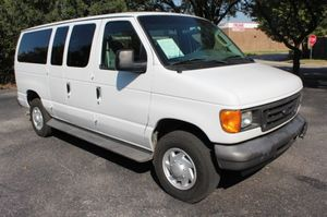 2007 Ford E-350 Van(Great Condition) for Sale in Houston, TX