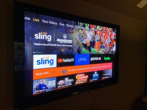 "Panasonic 65"" Plasma Model TH-65PZ750U for Sale in Frisco, TX"