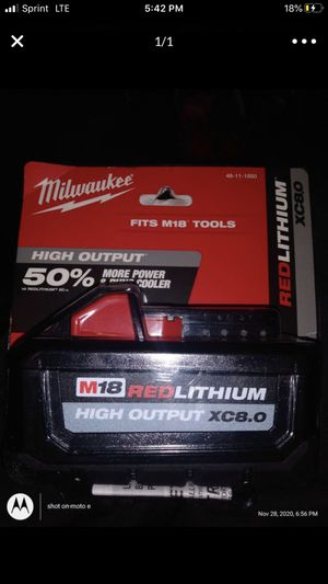 Milwaukee 8.0 for Sale in Clackamas, OR