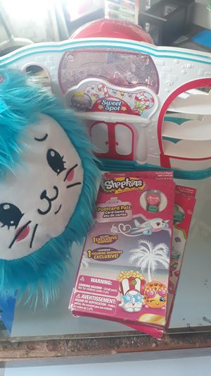 Shopkins Plush Doll, Playset & more for Sale in Carmichael, CA