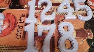 Wooden House Numbers for Sale in Tacoma, WA
