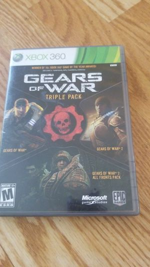 Gear ok f war triple pack game for Sale in Pomona, CA