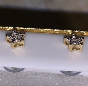10k gold and diamond earrings for Sale in San Juan Capistrano, CA