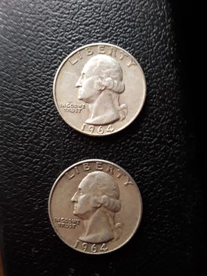 Quarter dollar silver 1964 for Sale in San Leandro, CA