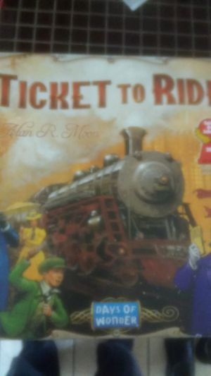 Ticket to Ride Days of Wonder board game for Sale in Houston, TX