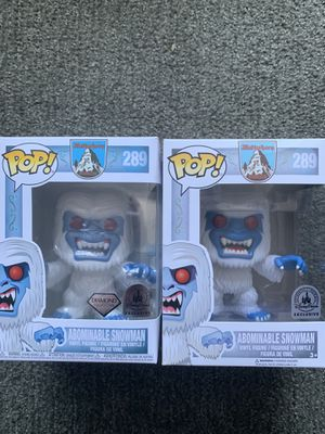 Funky Pop Disney Matterhorn abominable Snowman Original and Diamond Version for Sale in Pacifica, CA