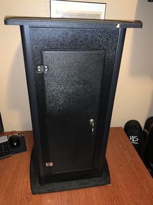 Zippo display case with extra pedestal cap for Sale in North Las Vegas, NV