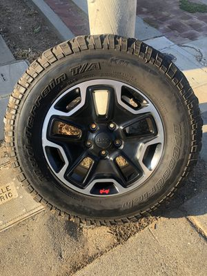 Mud-Terrain Tires / Jeep Wheels for Sale in Roseville, CA