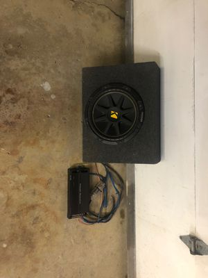 Kicker subwoofer for Sale in Bensenville, IL