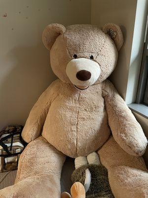 Costco 93 inch big teddy bear for Sale in Seattle, WA