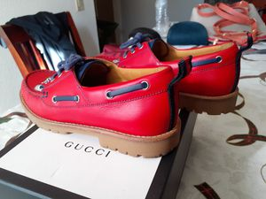 Red Gucci Guilty shoes for kids for Sale in Montclair, CA