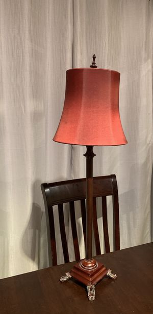 Antique / vintage Victorian Style burgundy lamp for Sale in Laguna Beach, CA